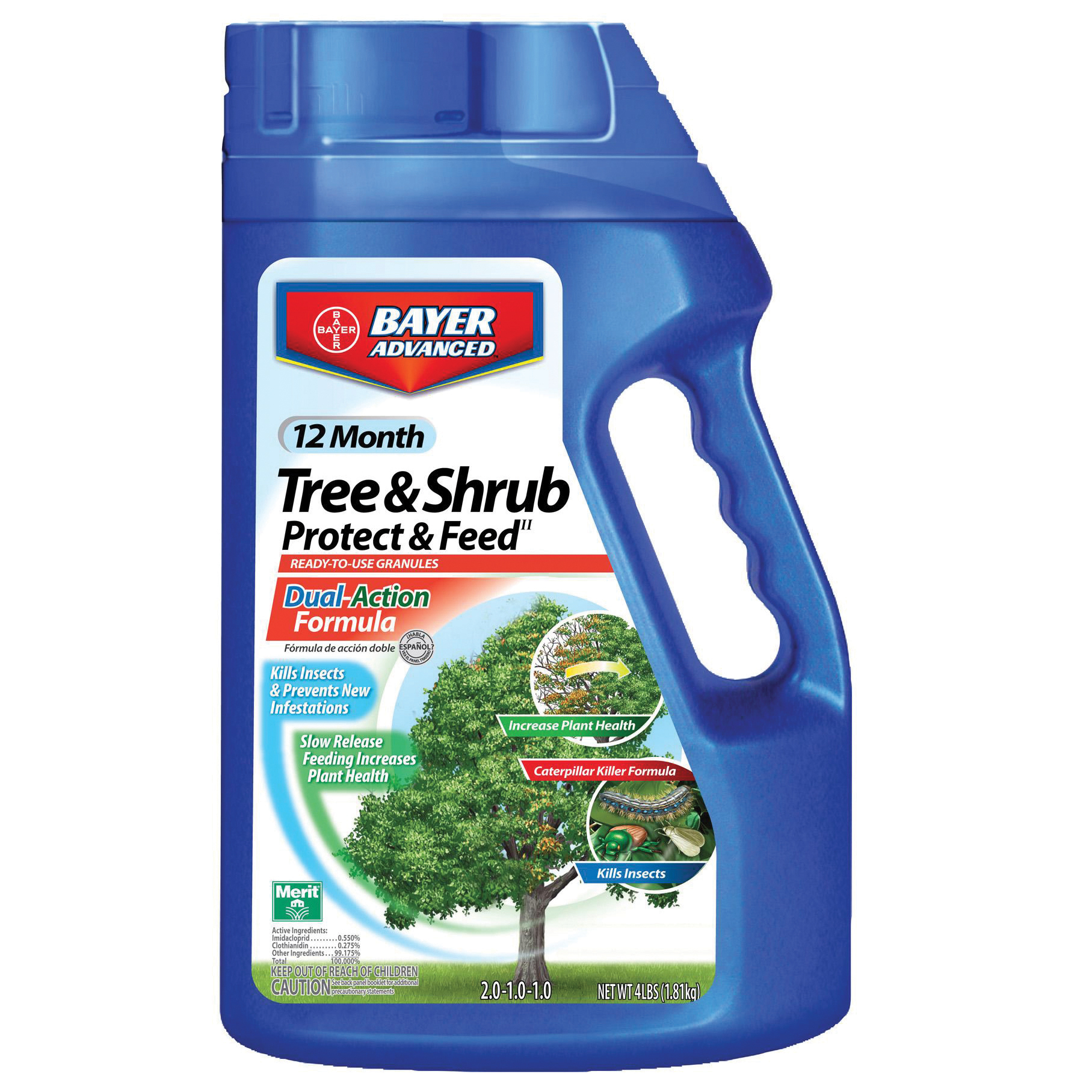 Bayer 4 12 Month Tree Amp Shrub Protect Amp Feed Gran Lawn Amp Garden Outdoor Tools Amp Supplies