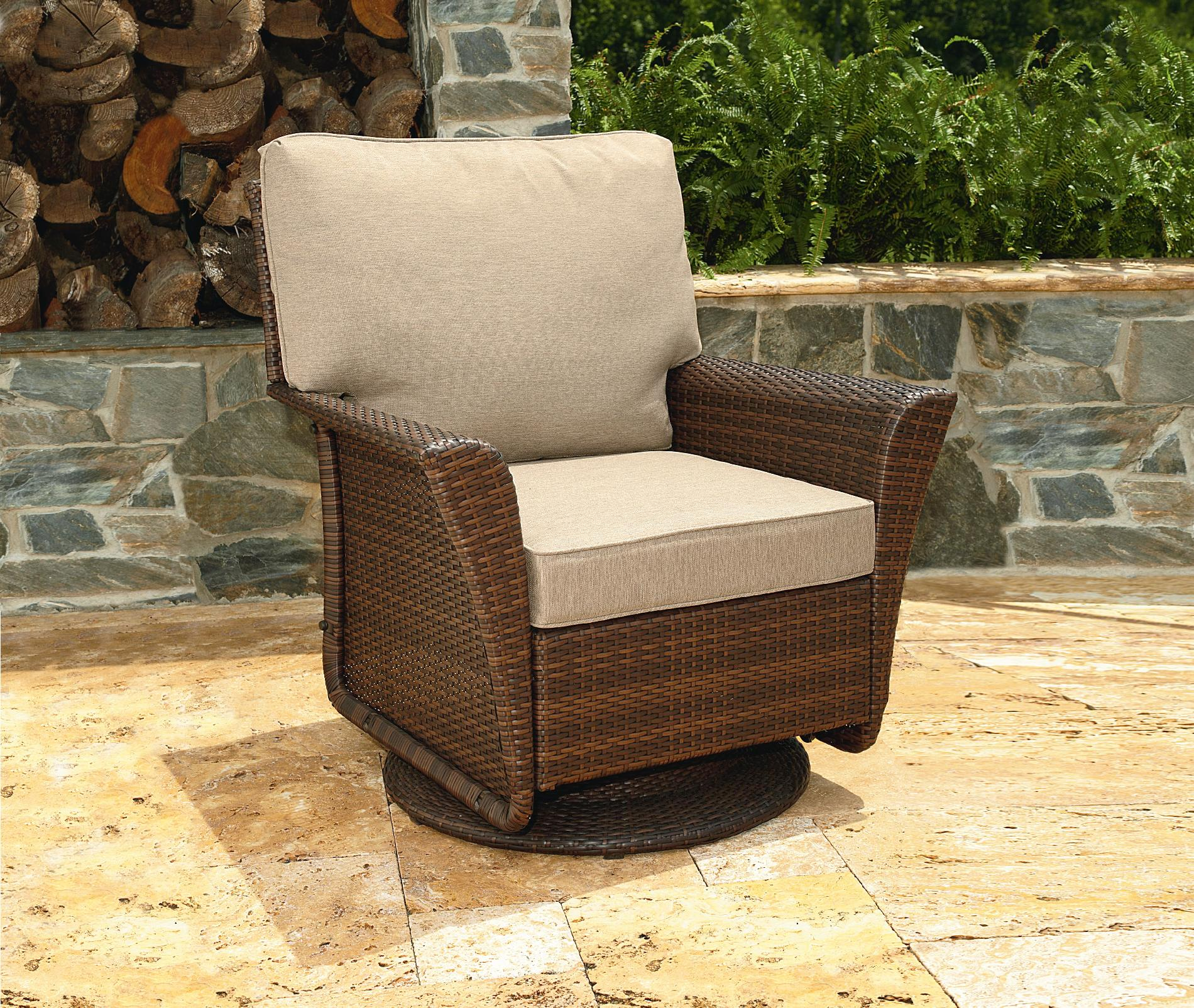 UPC 028776267441 Ty Pennington Style Parkside Swivel Glider Chair Limited Availability