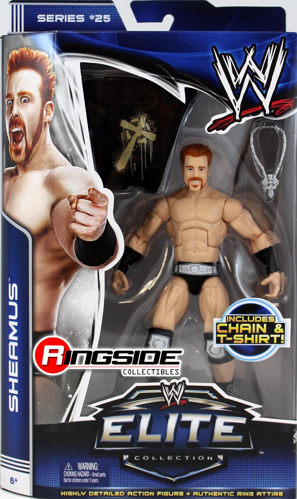 WWE Sheamus Elite 25 Toy Wrestling Action Figure