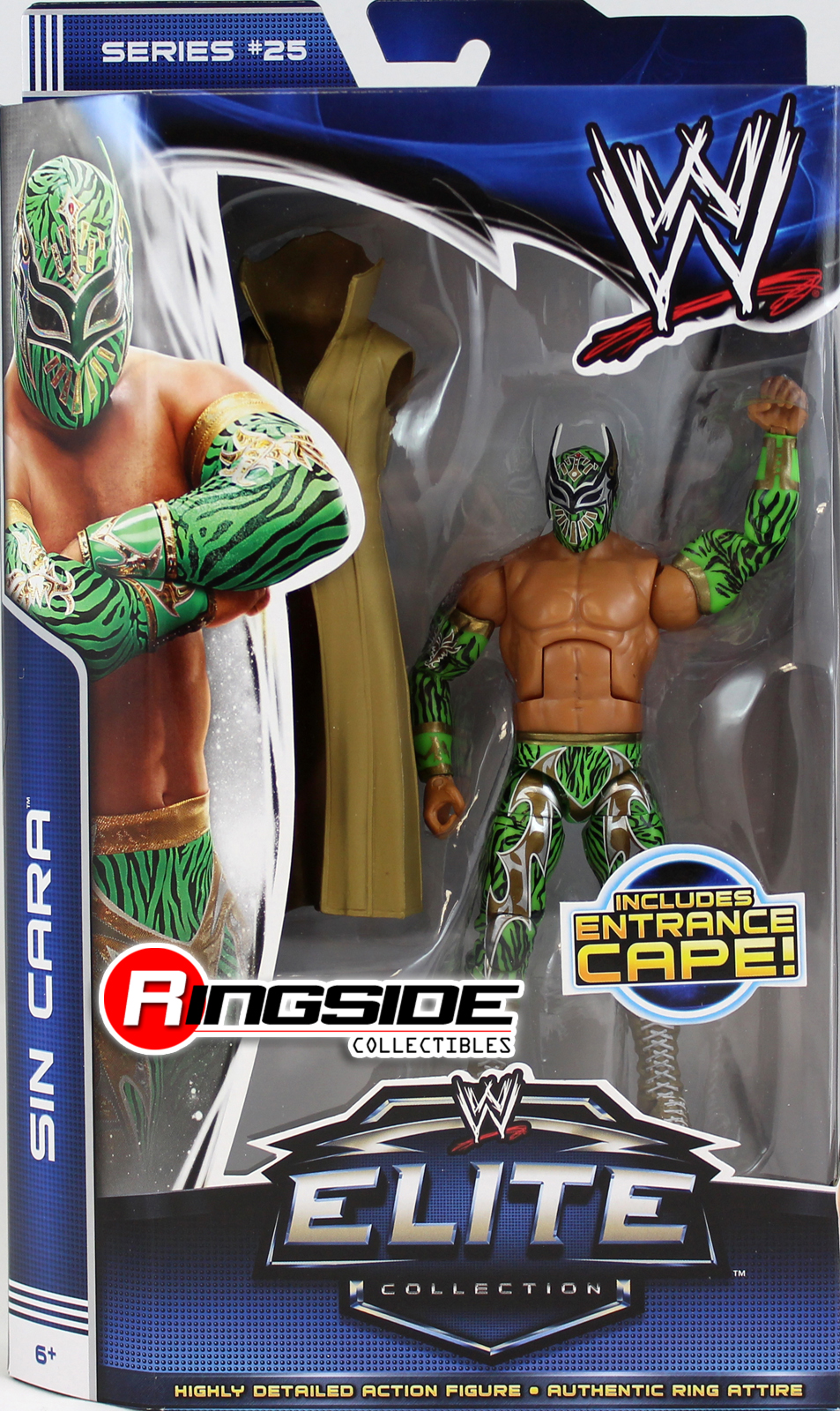WWE Sin Cara Elite 25 Toy Wrestling Action Figure