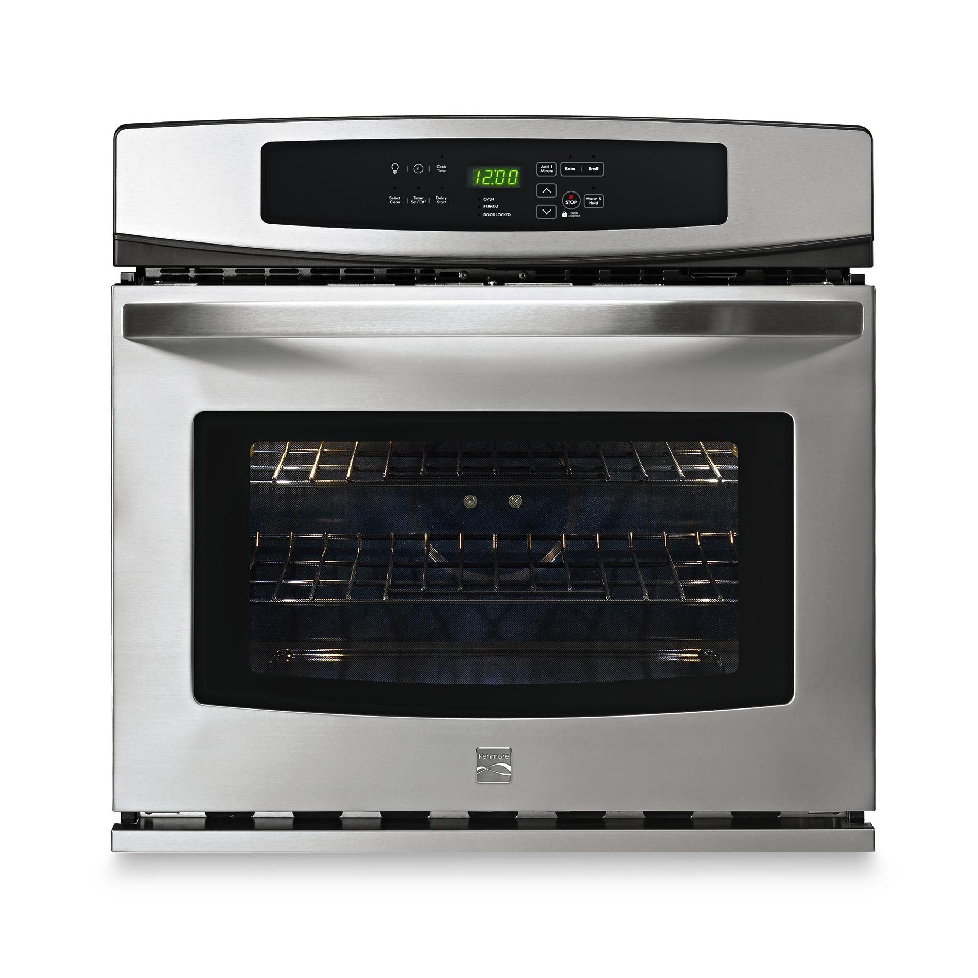 Kenmore Electric Single Wall Oven 30 in 48833  Sears