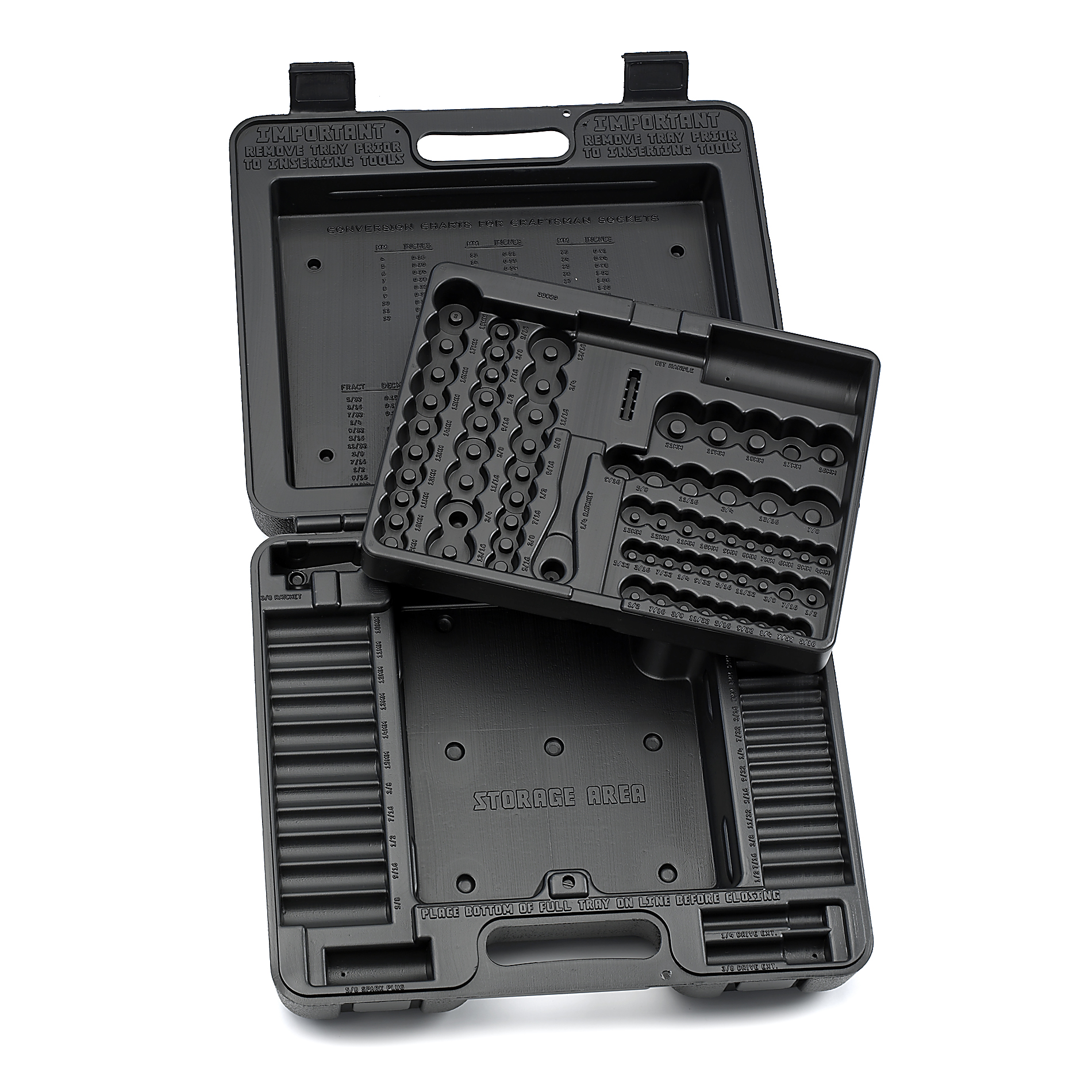 Craftsman Blow Mold Case For 33820