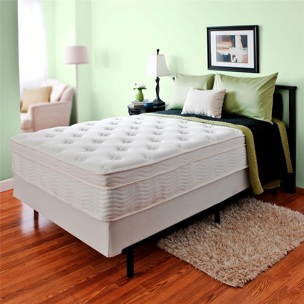 Night Therapy 13 Inch Spring Mattress And Bi Fold Box