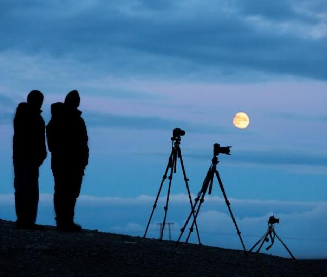 Taking Pictures Of The Moon
