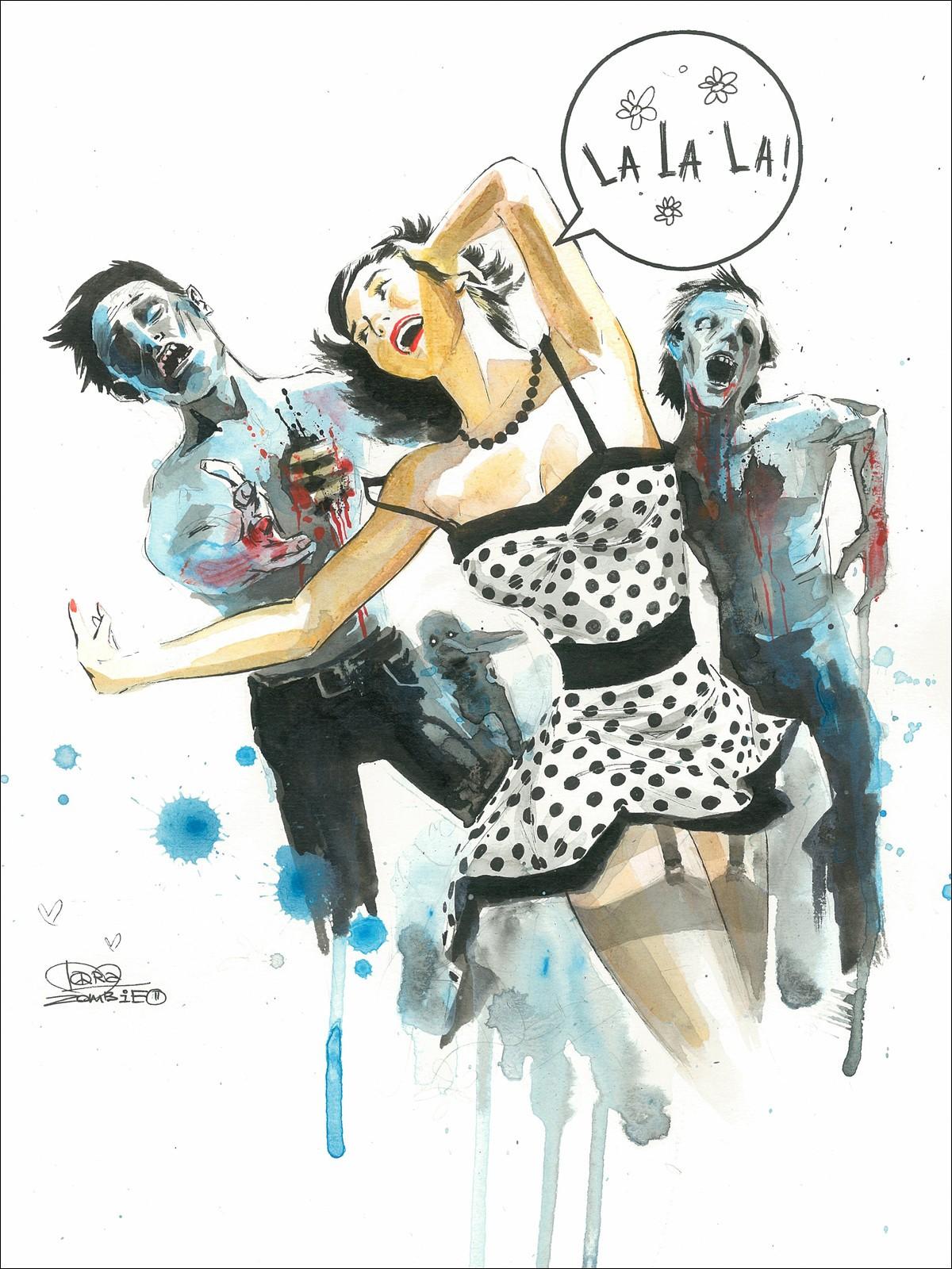 Kumpulan Contoh Gambar Sketsa Zombie Informasi Masa Kini