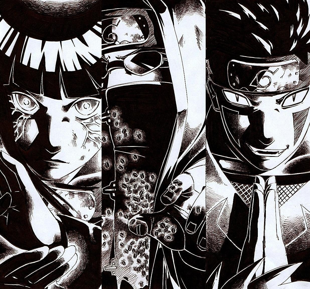 Kumpulan Contoh Gambar Sketsa Naruto Hitam Putih Informasi