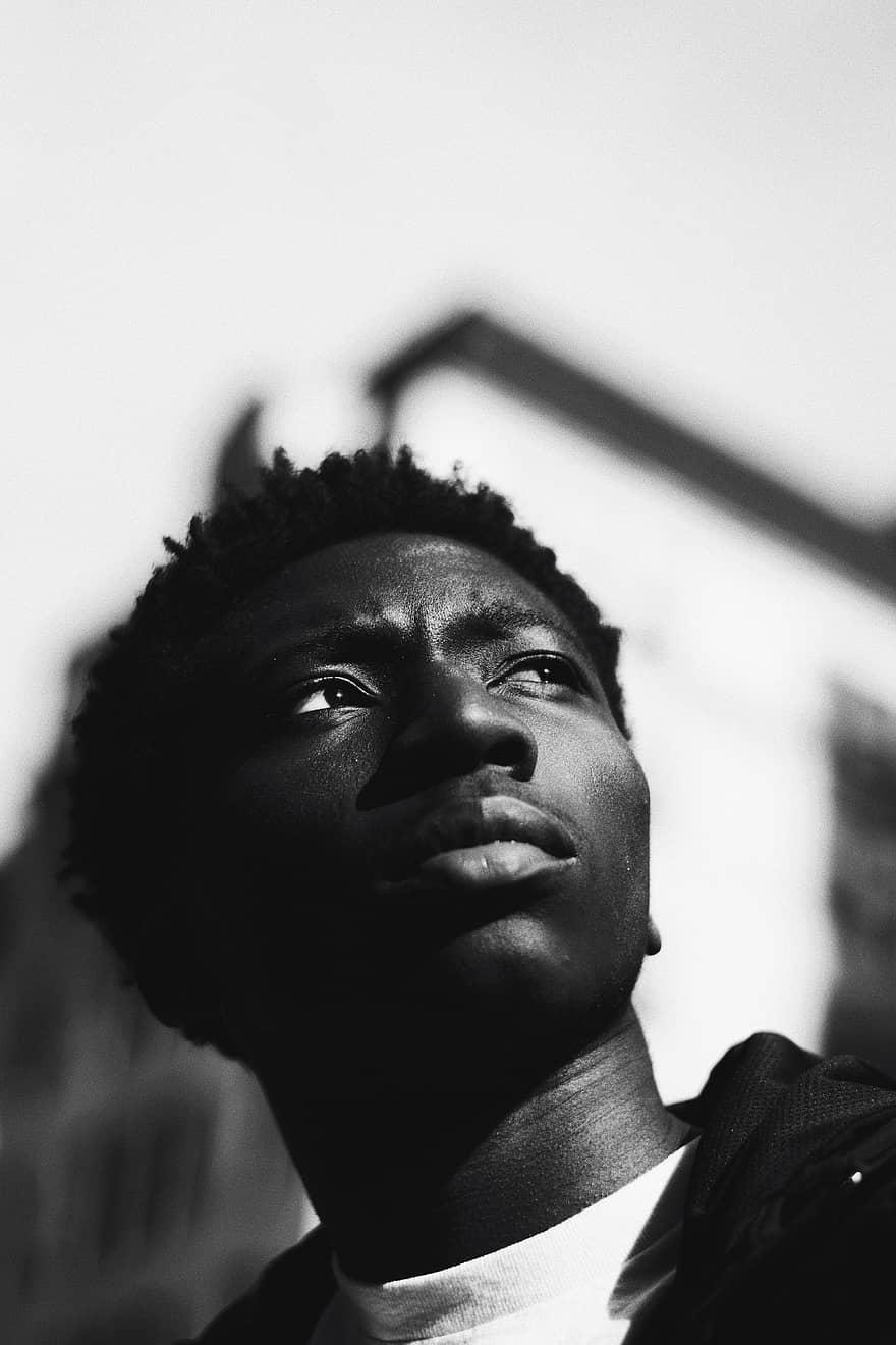 homme noir personne noire afro