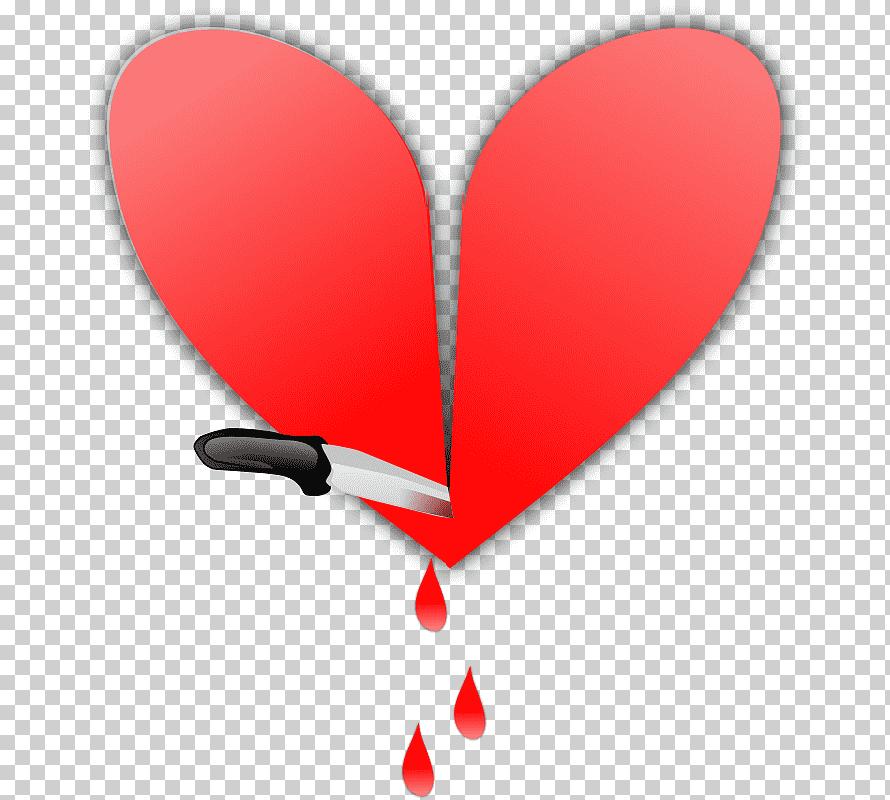 رسم قلب حب كبير