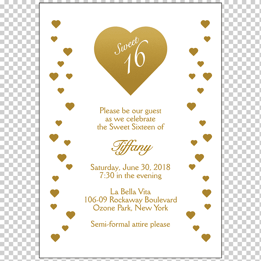 wedding invitation naming ceremony