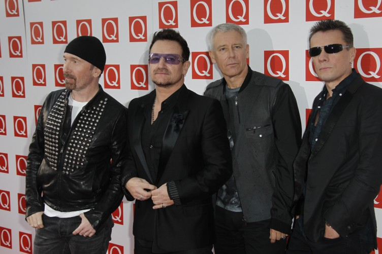 Image result for U2 at the top of Irelands rich list chart
