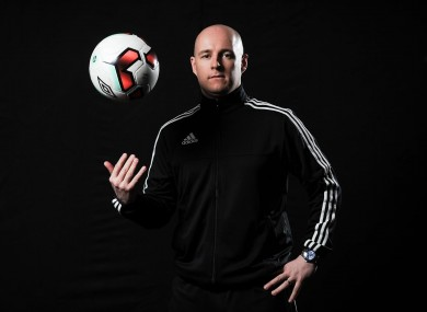 Rob Rogers has been refereeing in the League of Ireland's Premier Division since 2010.