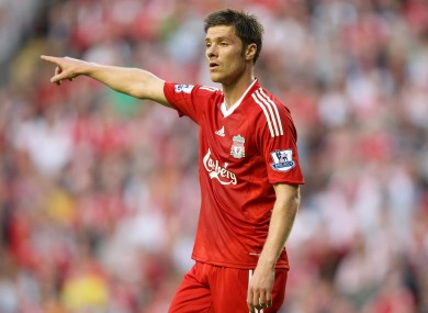 Image result for xabi alonso 2009