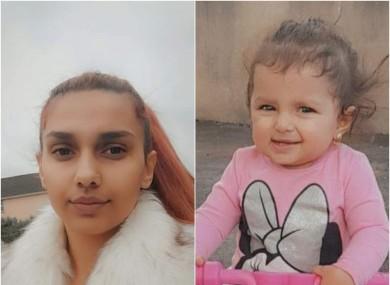 Larisa and her daughter Narcisa