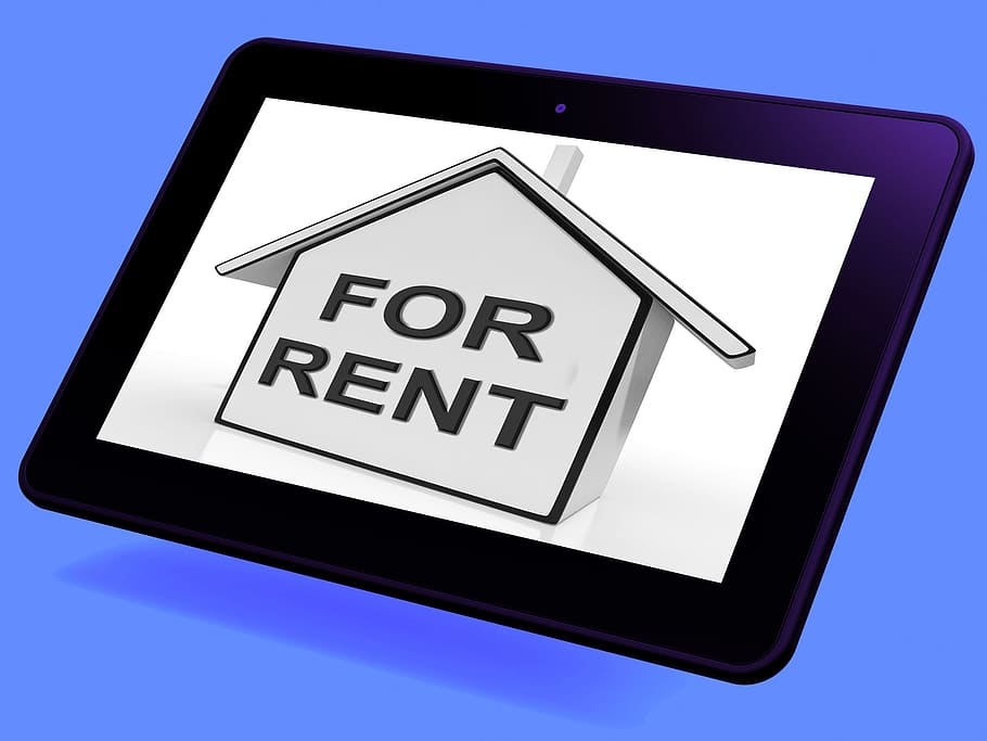 HD wallpaper: For Rent House Tablet Meaning Property Tenancy Or ...