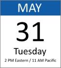 Webinar: Tuesday, May 31, 2016