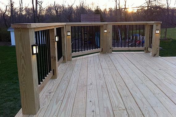 deck lighting ideas outdoor string lights tutorial with deck