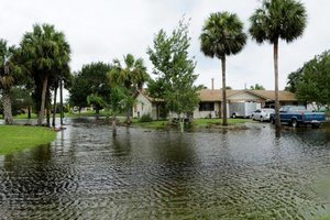Flooding in Florida in 2008