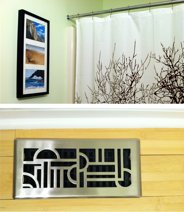 Shower curtain and air vent