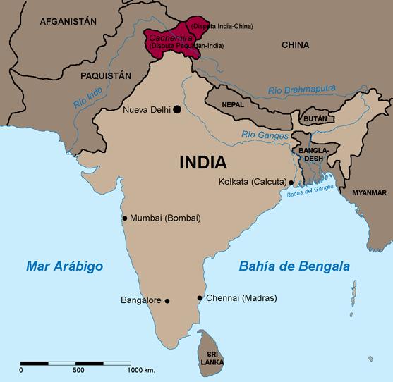 Mapa De La India En El Mundo.12 India 12º Pais Mas Rico Del Mundo Y Sierra Leona 12º Mas