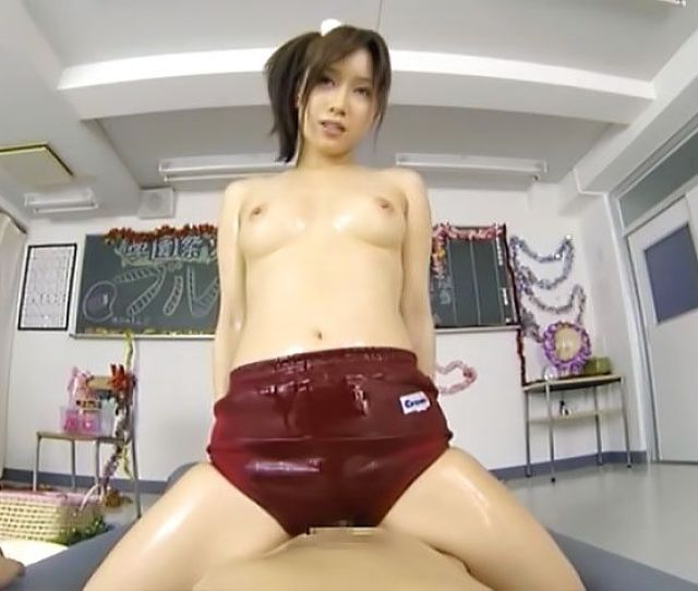 Beautiful Teen Girl Minami Kojima Gets Oiled And Plays With Dick