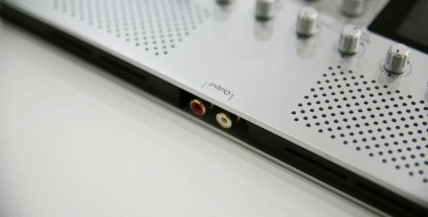 connessione ad una fonte audio esterna