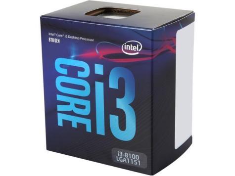 Hasil gambar untuk Intel Core i3 8100