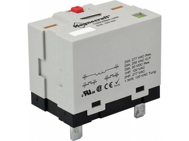 Relay, Power, 6 Pin, DPST-NO, 25A, 12VDC