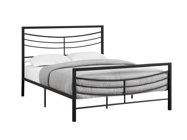 QUEEN SIZE / BLACK METAL FRAME ONLY