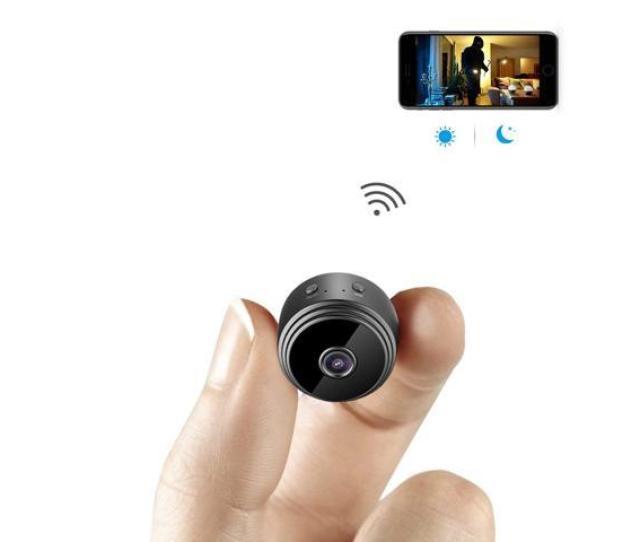 Mini Spy Camera Wifi Hidden Camera Aobo Wireless Hd 1080p Indoor Home Small Spy Cam Security