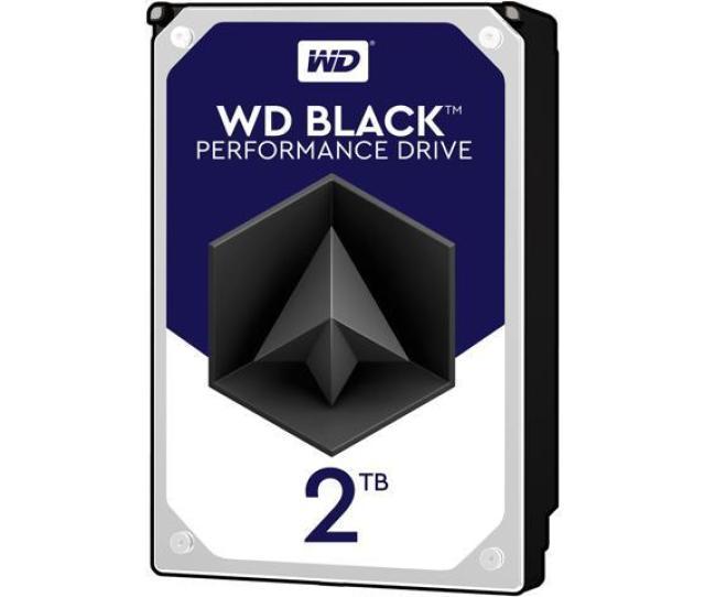 Wd Black 2tb Performance Desktop Hard Disk Drive 7200 Rpm Sata 6gb S 64mb