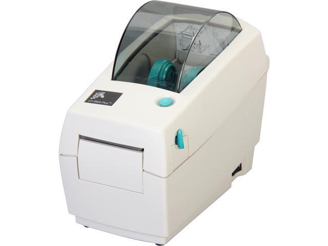 Zebra Lp 2824 Plus 282p 201110 000 Up To 203 Dpi Serial Usb Desktop Direct Thermal Label Printer