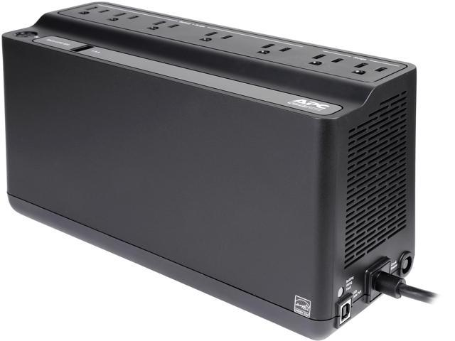 APC BE600M1 Back-UPS 600 VA 330 Watts 7 Outlets