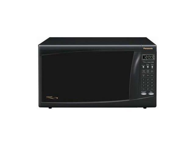 panasonic 1300 watts microwave ovens nn h665bf sensor cook black