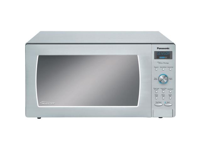 panasonic nn sd797s 1 6 cu ft 1250w countertop built in microwave oven inverter technology stainless steel