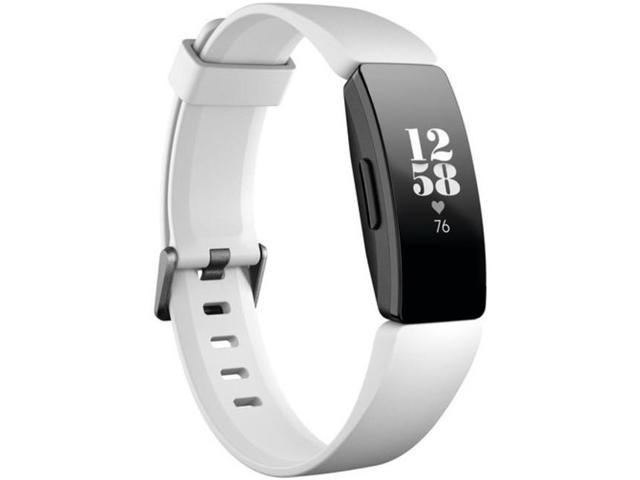 Fitbit Inspire HR FB413BKWT Activity Tracker with Band - White