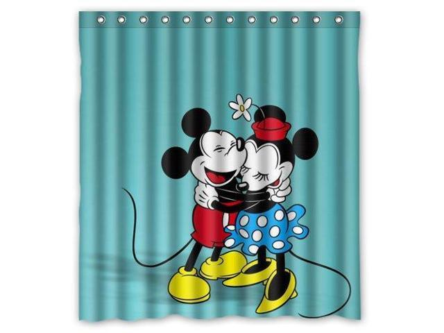 mickey mouse and minnie mouse hug
