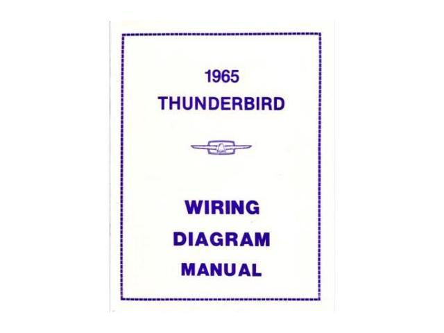 1965 Ford Thunderbird Electrical Wiring Diagrams