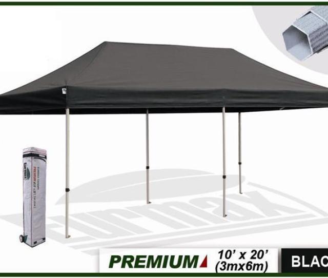 Eurmax Premium X Market Stall Ez Up Canopy Pop Up Tent
