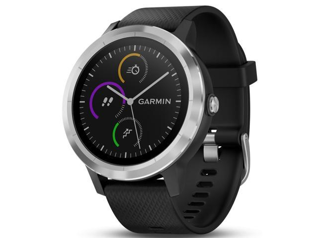 Garmin vivoactive 3 Multisport GPS Watch (Black/Stainless Hardware)