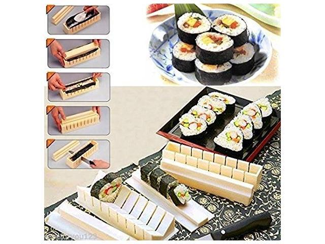 easy sushi maker 10 pieces rice ball