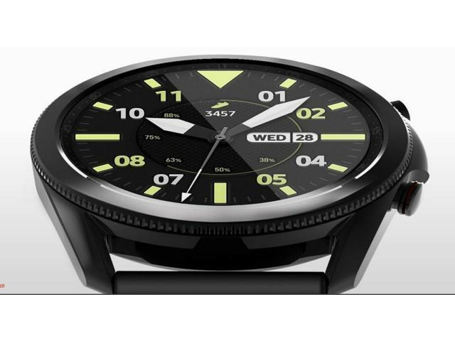 Samsung Galaxy Watch 3 2020 (45mm) - Stainless Steel/Leather Band (BT Version) 5ATM, IP68, MIL-STD-810G - Latam Specs