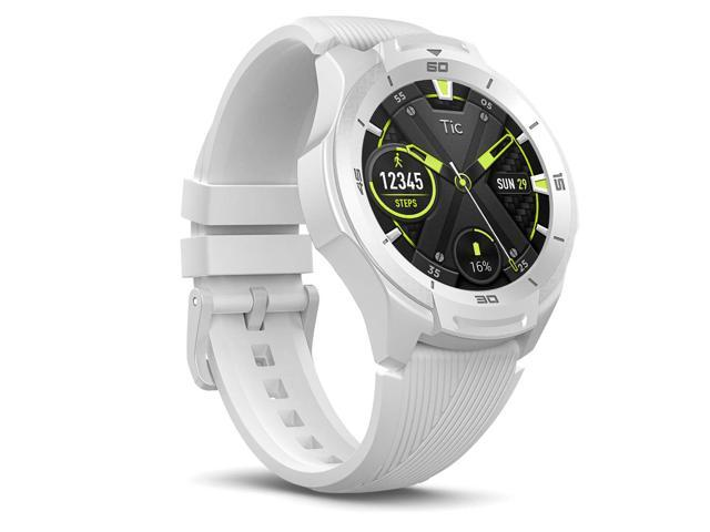 TicWatch S2 Glacier White Smart Watch US Military Satandard 810G Bluetooth Smartwatch with GPS Wear OS by Google 5 ATM Waterproof Android & iOS Compatible 2-Day Batterylife