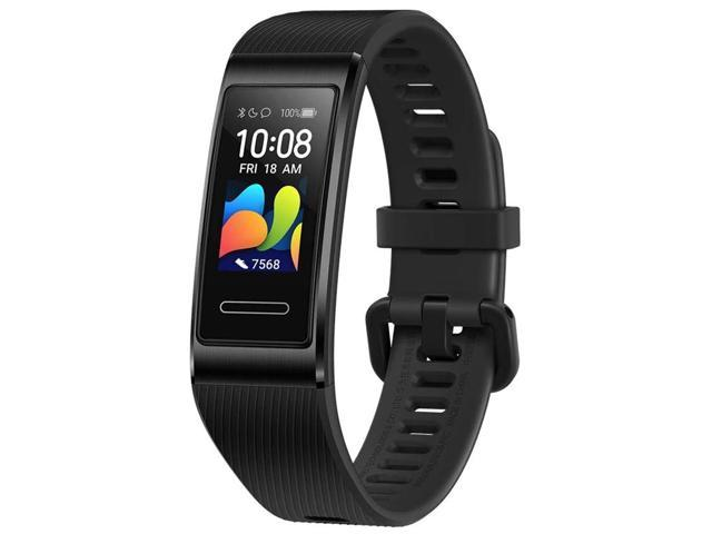 HUAWEI Band 4 Pro - Smart Band Fitness Tracker with 0.95 Inch AMOLED Touchscreen, 24/7 Heart Rate Monitor, Blood Oxygen Saturation Monitor, Built-in GPS, 5ATM Waterproof - Graphite Black