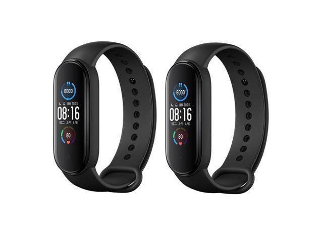2Pc Xiaomi Mi Band 5 Bracelet Heart Rate Monitor Fitness Tracker NFC Version
