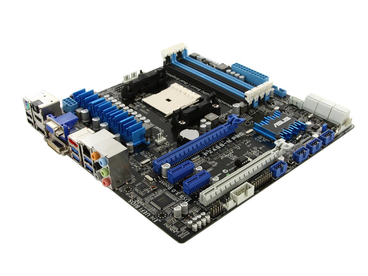 A85x Atx 6gb M Fm2 D4 3 Micro Hudson Motherboar Sata Usb Amd Asus Pro F2a85 0 S Amd Hdmi