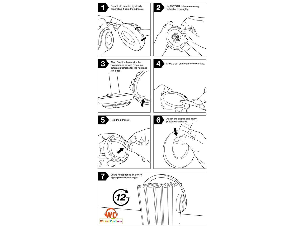 Agptek Replacement Ear Pads Cushion For Beats By Dr Dre