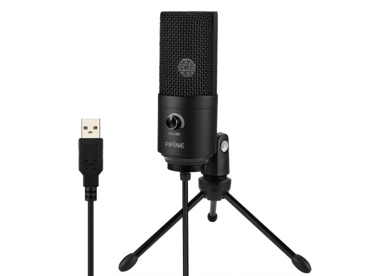 USB Microphone,Fifine Metal Condenser Recording Microphone For Laptop MAC Or Windows Cardioid Studio Recording Vocals, Voice Overs,Streaming Broadcast And YouTube Videos.(669B) - Newegg.com