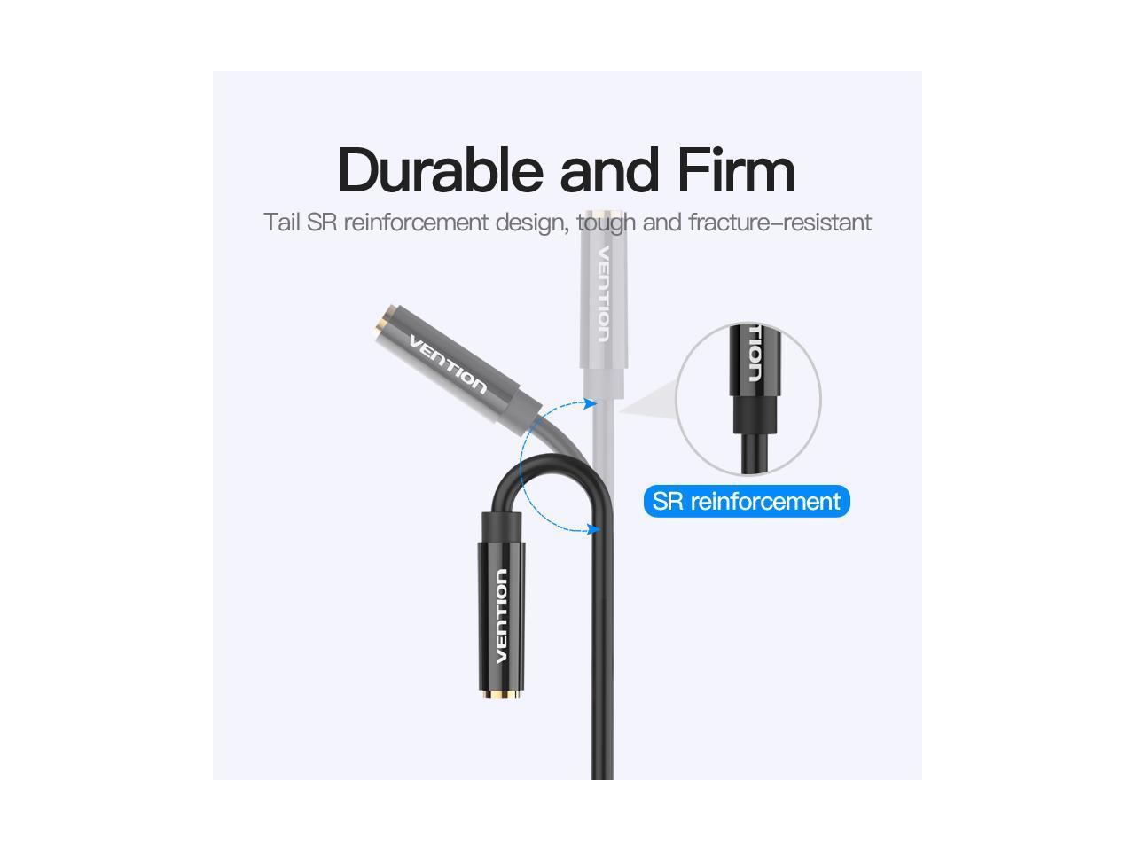 Vention 3 5mm Headphone Splitter 3 5mm Female To 2 Dual 3