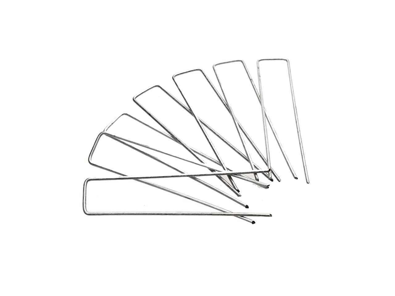 Galvanized Garden Stakes Landscape Staples And Fence Stake