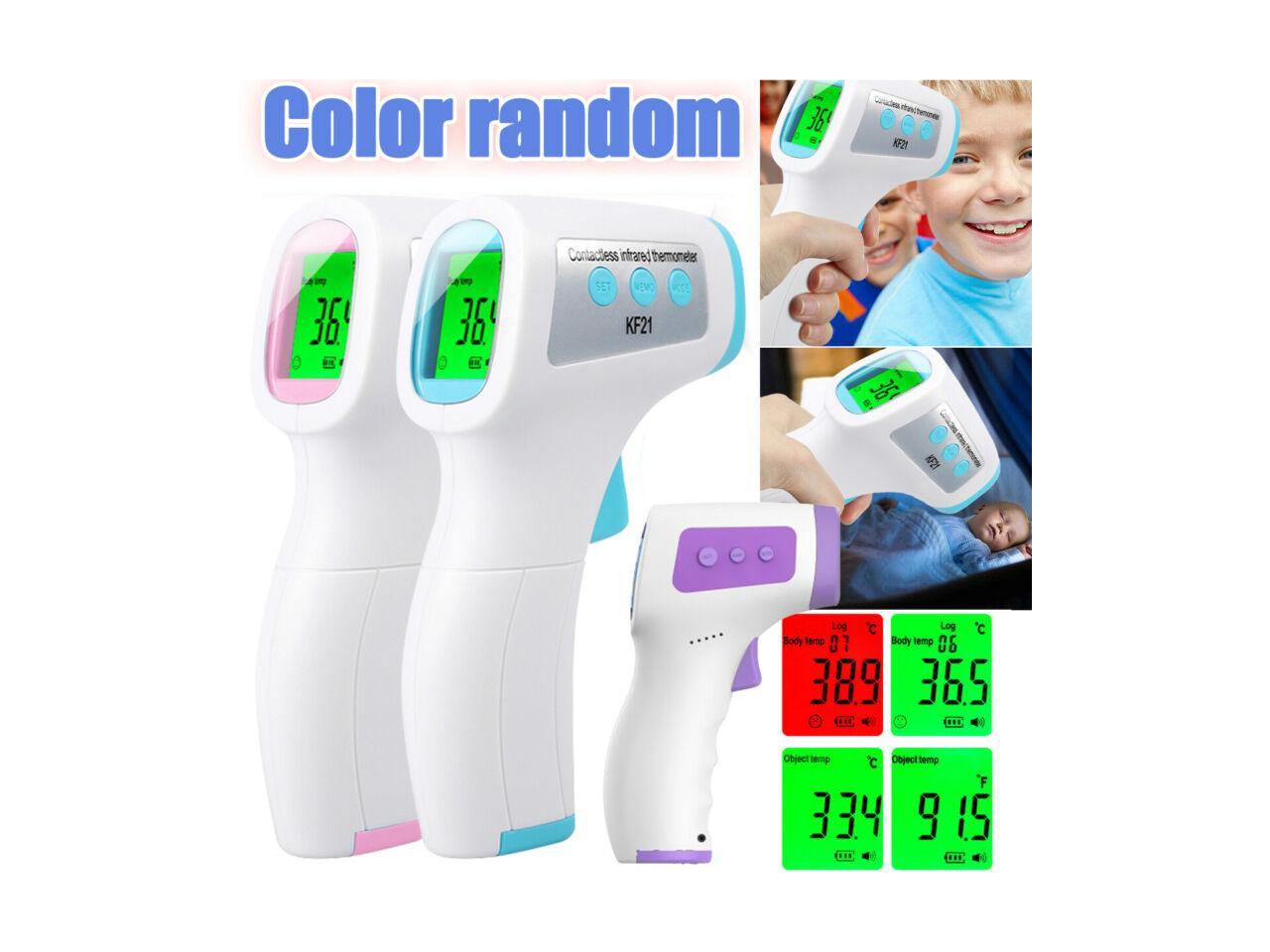 Non Contact Infrared Forehead Thermometer Medical Grade